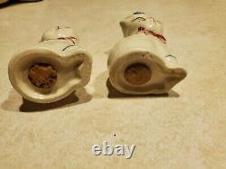 VINTAGE Shawnee Puss N Boots Cat Cookie Jar and Salt and Pepper Shakers