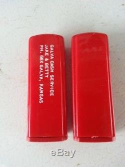 Vickers Gasoline Gas Pump Salt and Pepper Shakers