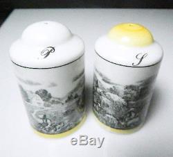 Villeroy & Boch AUDUN FERME Salt & Pepper Shakers, RARE