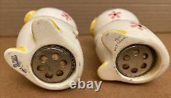 Vintage 1959 Holt Howard Bo Peep Chicken Chick Retro Salt & Pepper Shaker