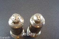 Vintage 1970's NAVAJO Sterling Silver TIM KEE WHITMAN Salt Pepper Shaker Set Lot