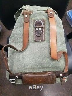 Vintage ('57) Swiss Salt & Pepper Backpack Size Small