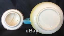 Vintage Anthropomorphic Teapot And Salt Pepper Shakers Set Boy Face 1950s Japan