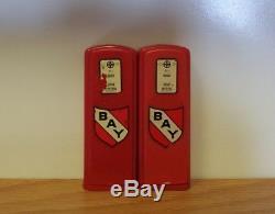 Vintage Bay Gas Pump Salt & Pepper Shaker Set