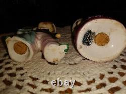 Vintage Enesco Pink Sweet Shoppe Cupcake Girl and Boy Salt & Pepper Shakers Nice
