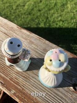Vintage Enesco Sweet Shoppe Kids Ceramic Salt and Pepper Shakers Made in Japan