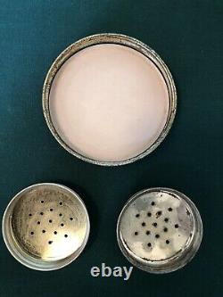 Vintage Fire King Jadeite Grease Jar and Salt & Pepper Shakers Range Set in EUC