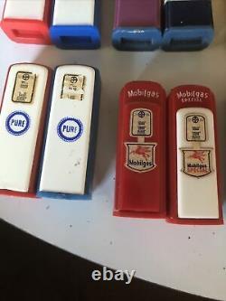 Vintage Gas Pump Salt & Pepper Shakers (Lot of 15)