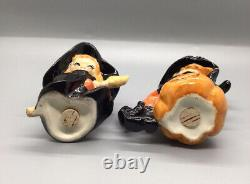 Vintage Hard To Find Lefton Japan Witches Salt And Pepper Shakers