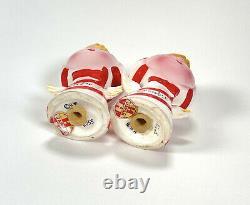 Vintage Holt Howard Christmas Lil Salt & Pepper Shakers Candy Cane Angels Pixie