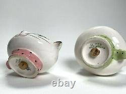 Vintage Holt Howard Cozy Kitten Cat Pixieware Salt Pepper Shakers Mid-Century