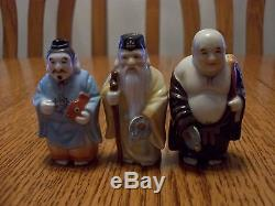 Vintage Lot Japanese Asian Arita Toshikane Porcelain 12 Salt And Pepper Shakers