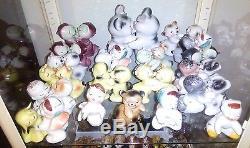 Vintage Lot of Bendel Van Tellingen Salt and Pepper Shaker Collection Gotta SEE