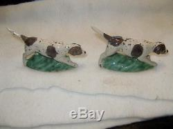 Vintage Rosemeade English Pointer Dogs Salt and Pepper Shakers
