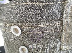 Vintage Salt & Pepper Swiss Army Backpack Acccesory Bag