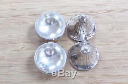 Vintage Sterling Silver Georg Jensen Salt & Pepper Shakers 42.0grams SS-2808