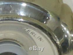 Vintage Sterling Silver Salt & Pepper Shakers, Pear & Apple