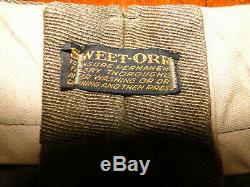 Vintage Sweet Orr Salt & Pepper 1920'S HUNTING JODHPURS, PANTS BUTTON FLY 34 x26