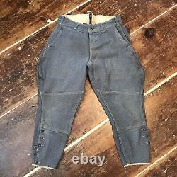 Vintage Sweet Orr Salt & Pepper Jodhpurs Riding Pants 30s 40s Work Trousers 28