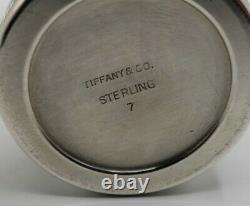 Vintage Tiffany & Co Sterling Salt And Pepper Shaker No 7