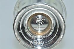 Vintage Tiffany & Co. Sterling Silver Salt & Pepper Shakers
