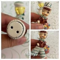 Vintage enesco sweet shoppe salt and pepper shakers Cupcake Girl