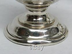 Wallace Grand Baroque Sterling Silver Pair Salt & Pepper Shakers
