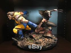 Wolverine X-23 diorama custom statue Salt & Pepper Statues NIB EX LE # 26 of 35