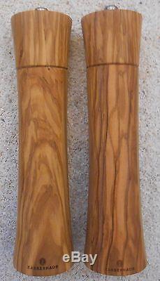 Zassenhaus Gewürzmühlen Set Pfeffermühle und Salzmühle Frankfurt olive 24 cm